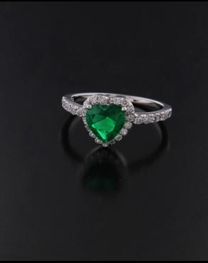 Ασημένιο δαχτυλίδι 925 με Ζιργκόν c9fa1a489b5