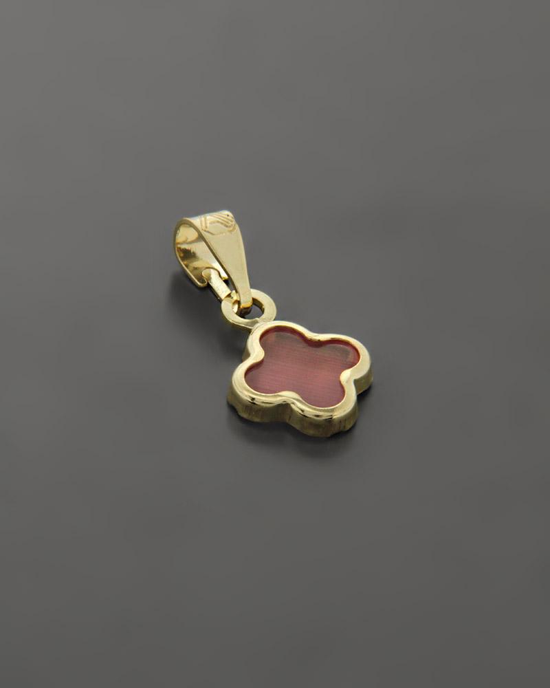 Κρεμαστό χρυσό Κ9 με Φίλντισι   γυναικα κρεμαστά κολιέ κρεμαστά κολιέ χρυσά
