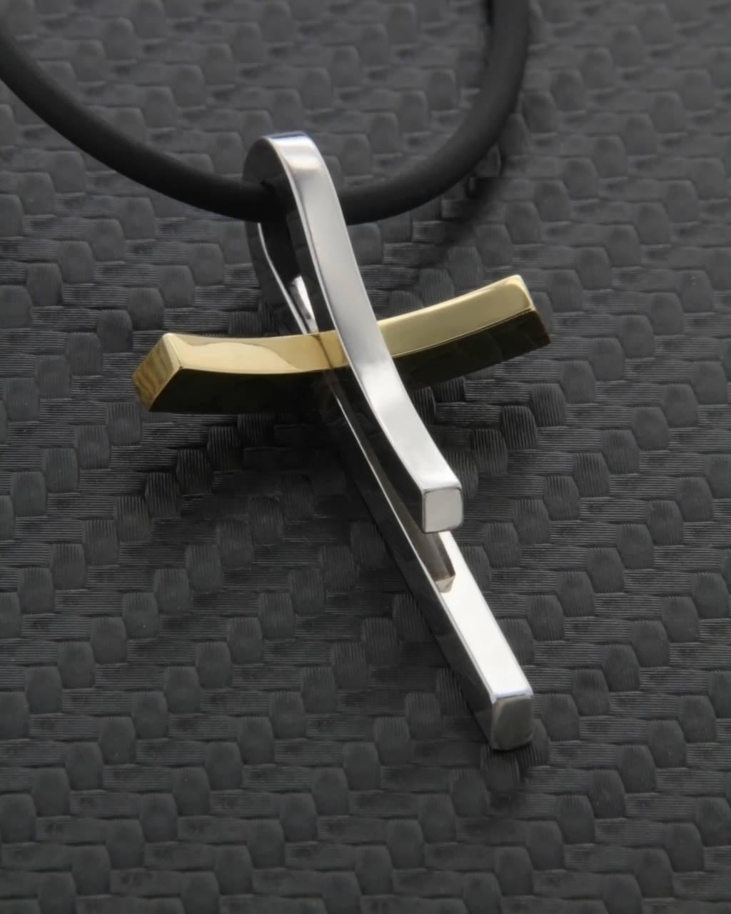 Σταυρός χρυσός & λευκόχρυσος Κ18   ανδρασ σταυροί ανδρικοί