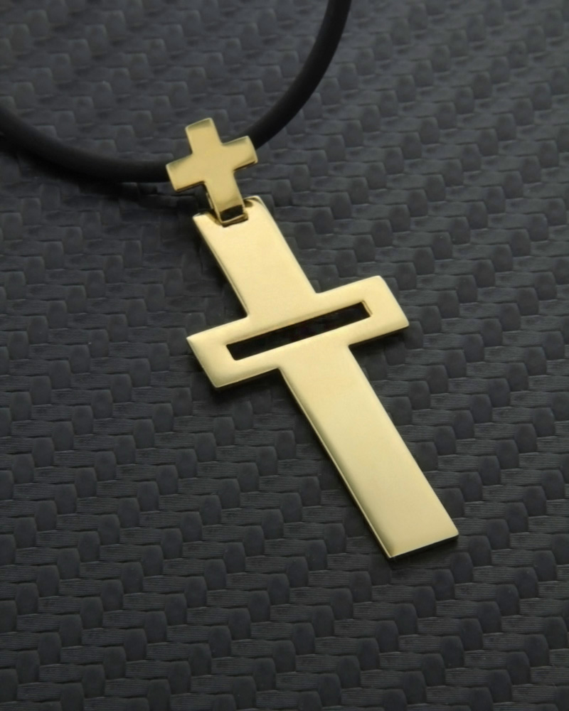 Χρυσός σταυρός Κ18   ανδρασ σταυροί ανδρικοί