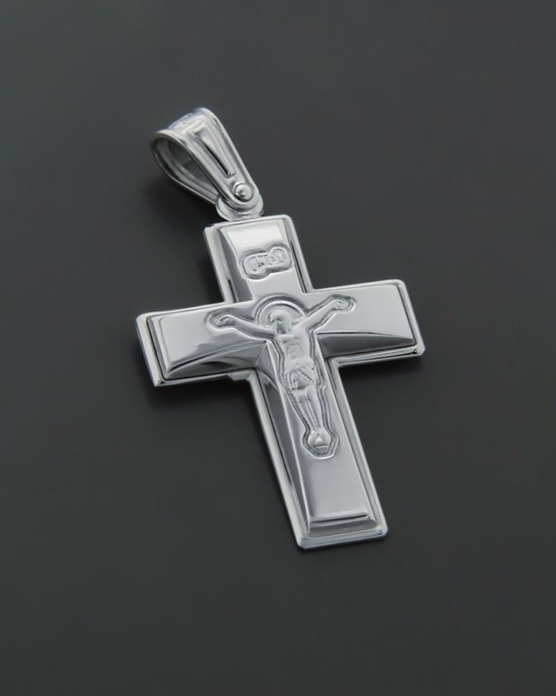 Σταυρός λευκόχρυσος Κ9   παιδι βαπτιστικοί σταυροί βαπτιστικοί σταυροί για αγόρι