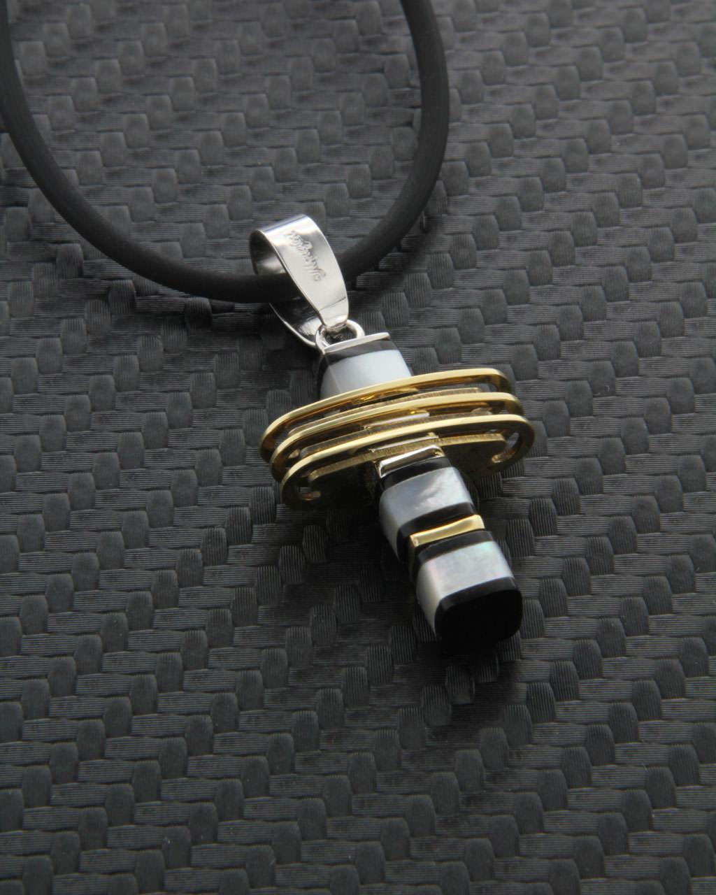 Σταυρός χρυσός & λευκόχρυσος Κ18 με Φίλντισι & Όνυχα   κοσμηματα σταυροί σταυροί ανδρικοί