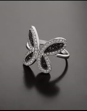 Δαχτυλίδι λευκόχρυσο Κ14 με Ζιργκόν 66cc29db068