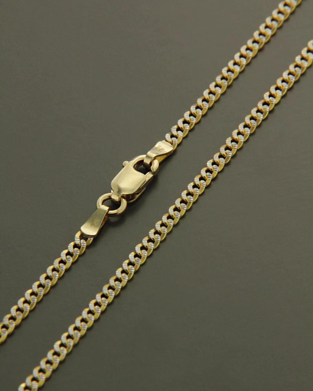 Αλυσίδα λαιμού χρυσή Κ14 ΓΚ/050K 50cm   παιδι αλυσίδες λαιμού αλυσίδες χρυσές