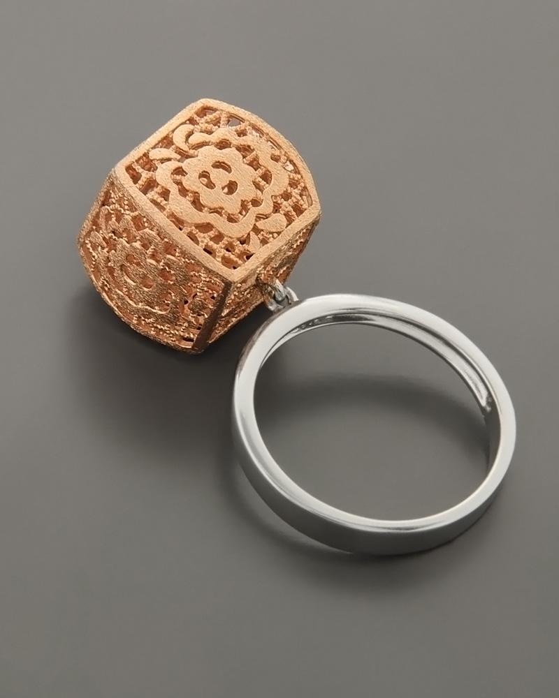 Δαχτυλίδι Arabesque ασημένιο 925   γυναικα δαχτυλίδια δαχτυλίδια ασημένια