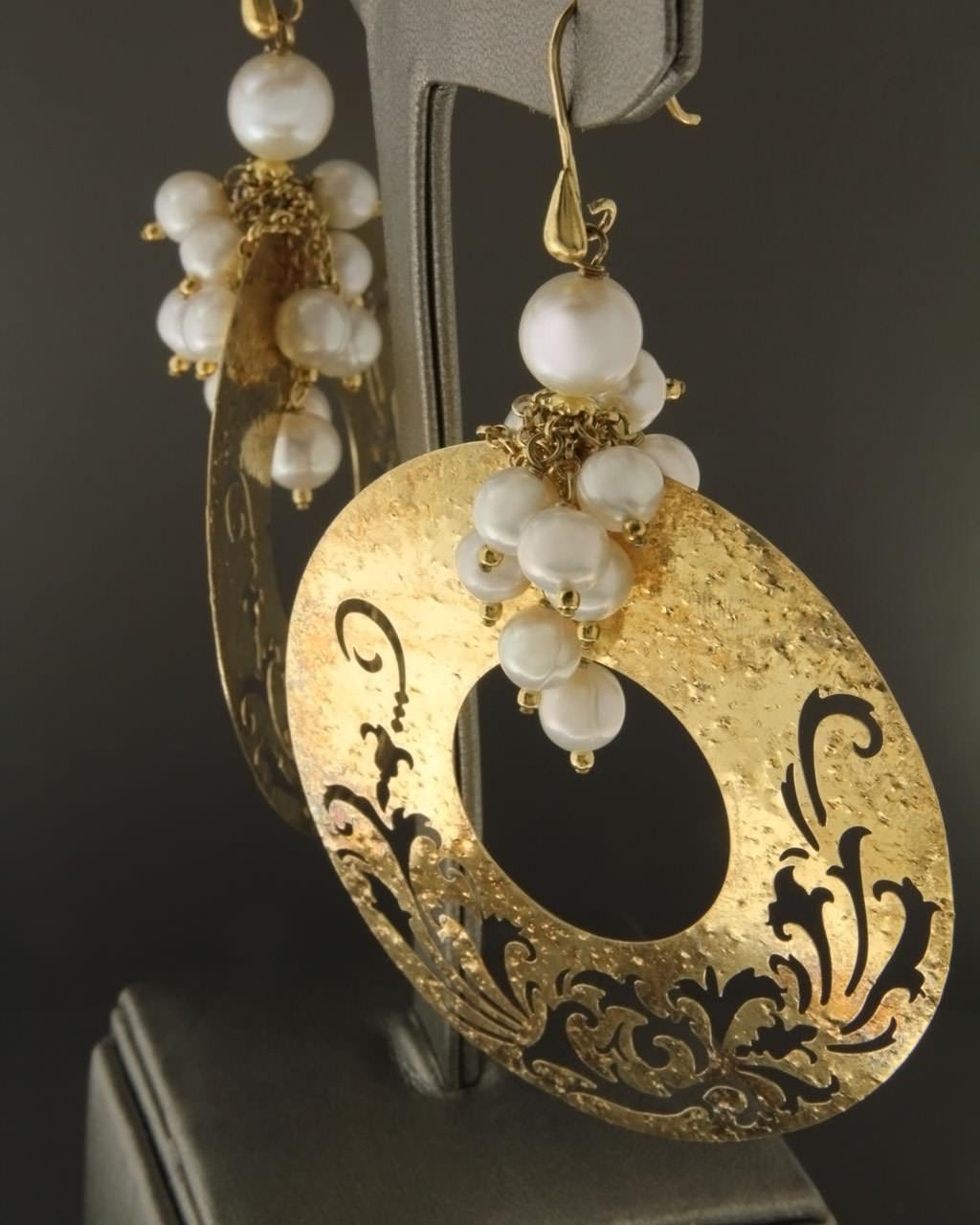 Σκουλαρίκια ασημένια με Μαργαριτάρια   γυναικα σκουλαρίκια σκουλαρίκια ασημένια