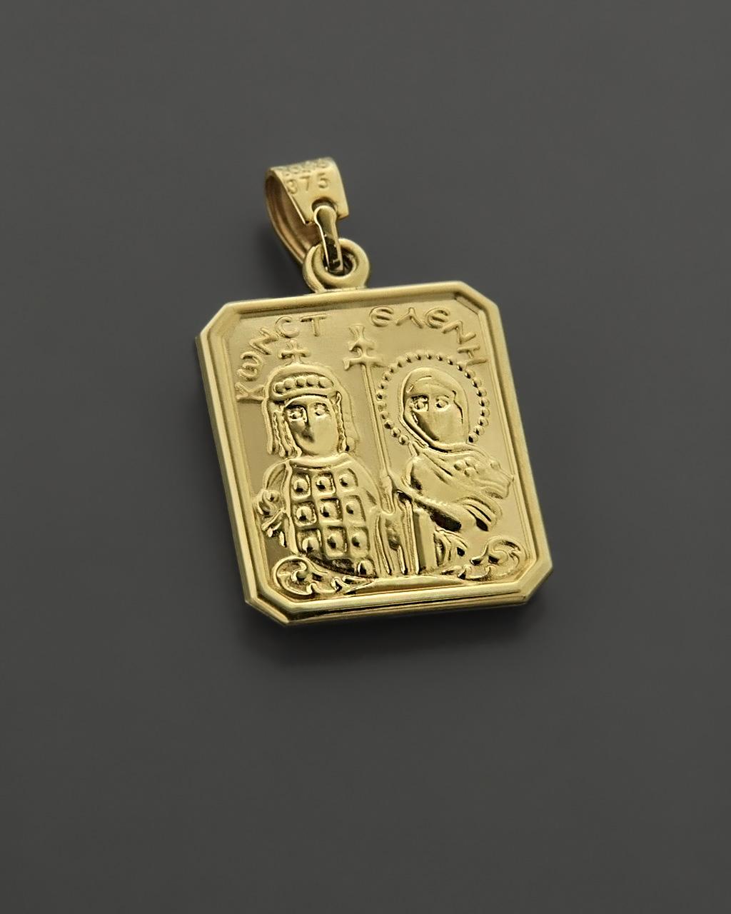 Φυλαχτό & Ζώδιο χρυσό & λευκόχρυσο Κ9   κοσμηματα κρεμαστά κολιέ παιδικά φυλαχτά