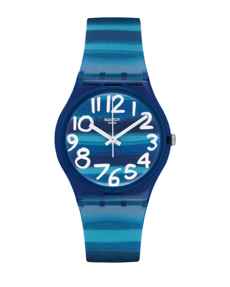 Ρολόι Swatch Linajola Blue GN237   brands swatch
