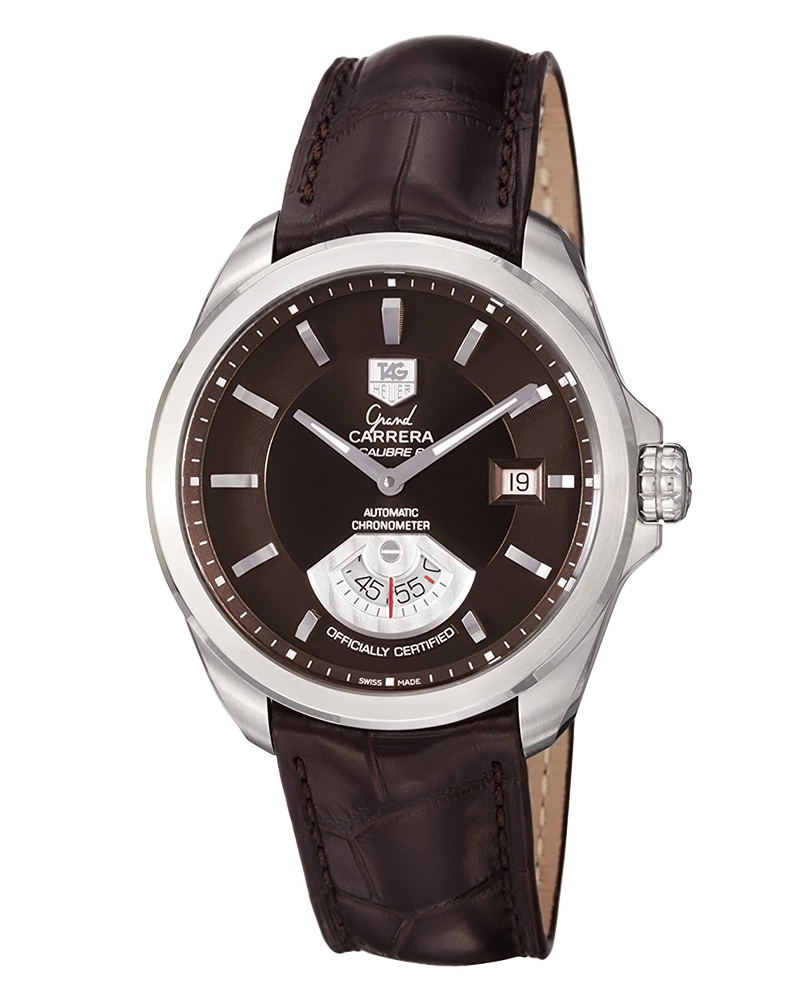 Ρολόι TAG Heuer Grand Carrera Calibre 6 WAV511C.FC6230   ρολογια tag heuer