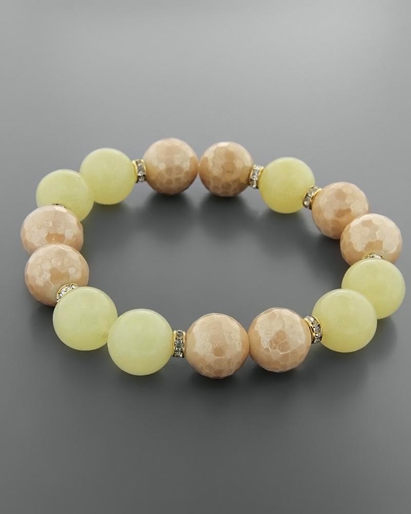 Γυναικείο βραχιόλι με Ορυκτές πέτρες & Πέρλες   γυναικα βραχιόλια βραχιόλια ημιπολύτιμοι λίθοι