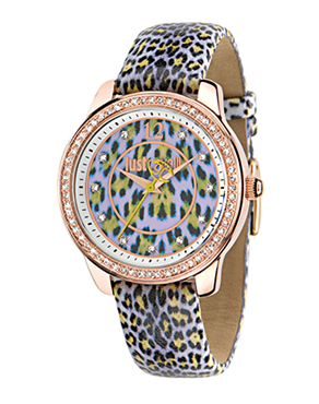 Ρολόι Just Cavalli Leopard Rose Gold Animal R7251586504
