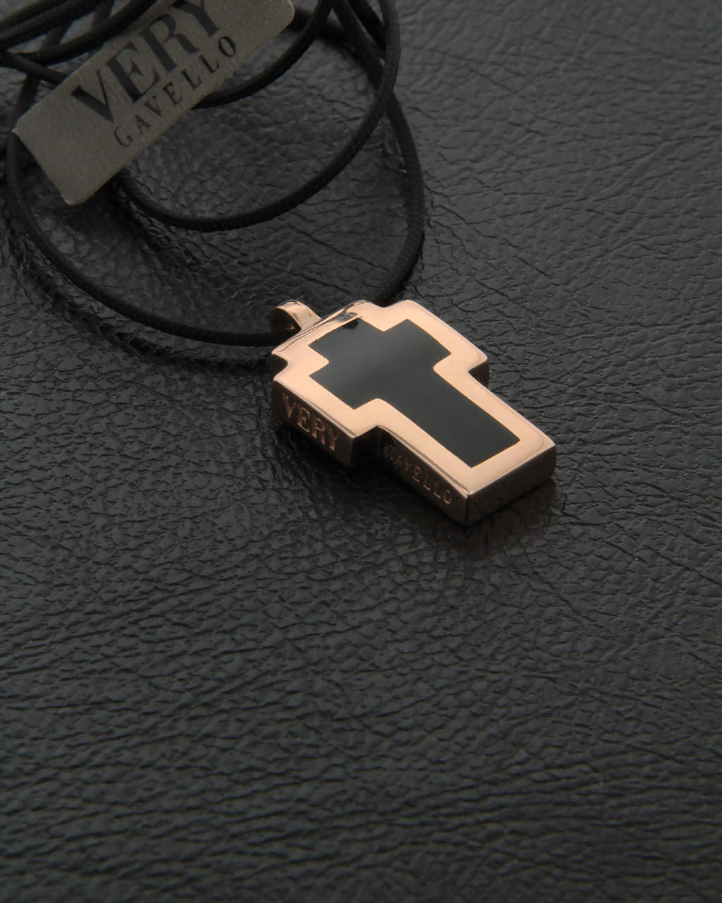 Very Gavello κολιέ σταυρός Tattoo VPTA-L-R1   κοσμηματα σταυροί σταυροί ροζ χρυσό