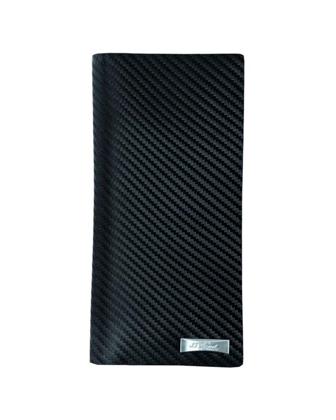 S.T. Dupont Πορτοφόλι -Defi Coat Wallet 7 CC Blk170007   ανδρασ δερμάτινα είδη