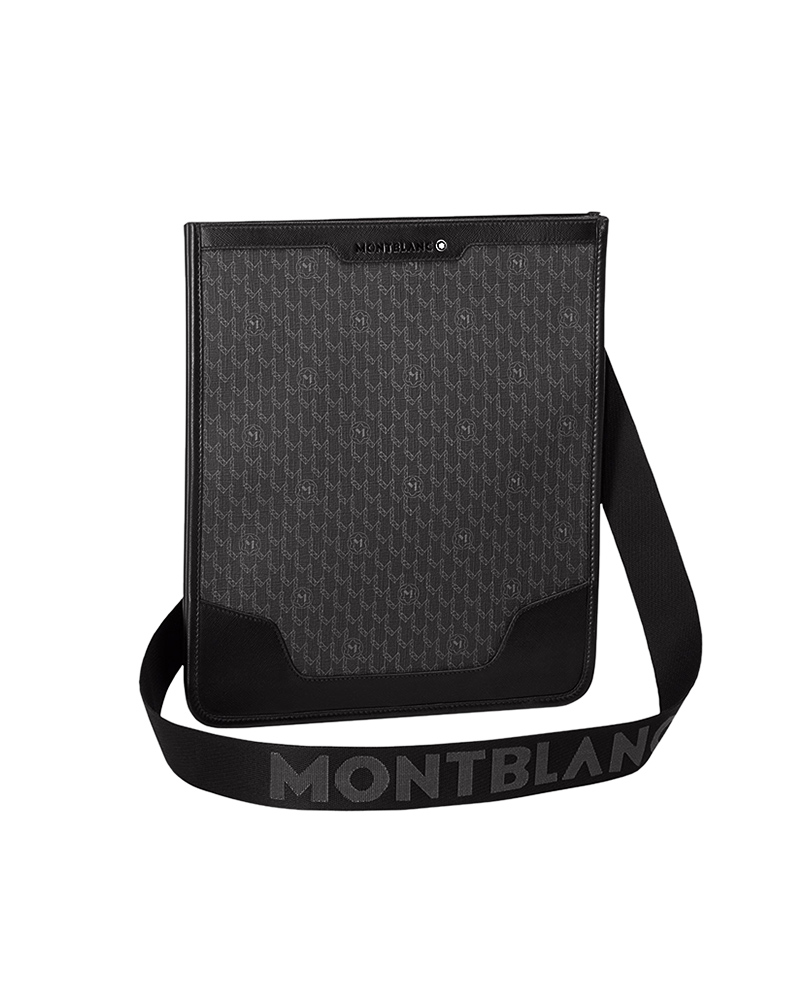 Montblanc Τσάντα Ώμου Nightflight 106753   δωρα δερμάτινα είδη   αξεσουάρ