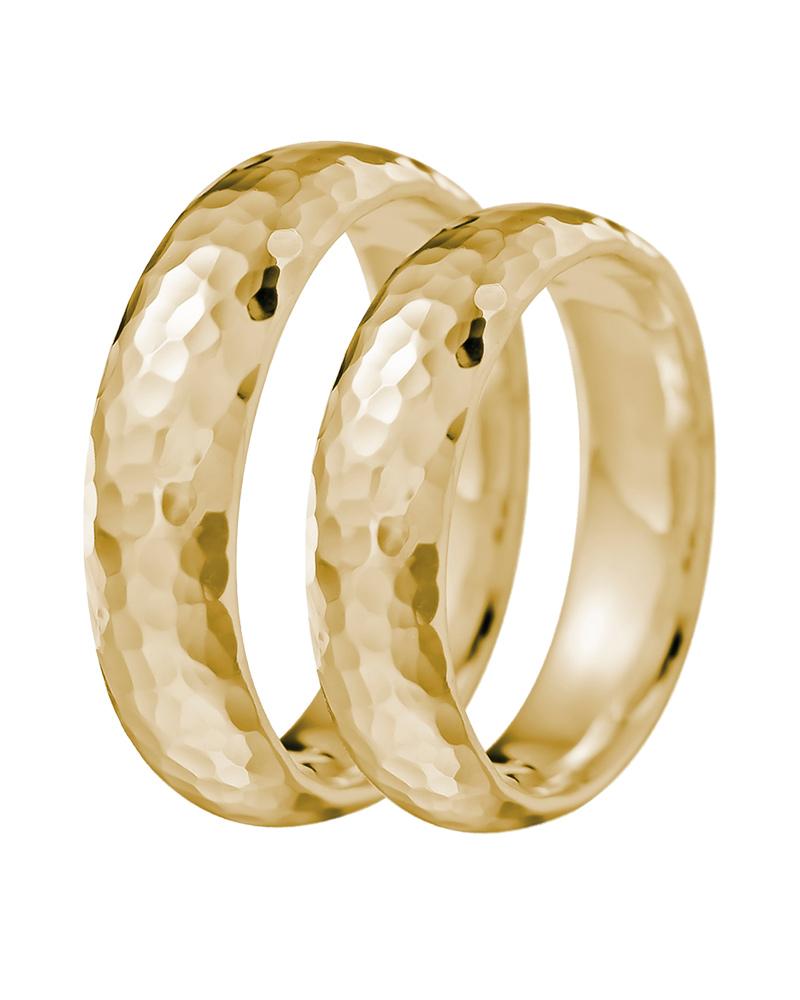 Βέρα γάμου ασημένια 925 σφυρήλατη επίχρυση   γαμοσ βέρες γάμου   αρραβώνα βέρες ασημένιες