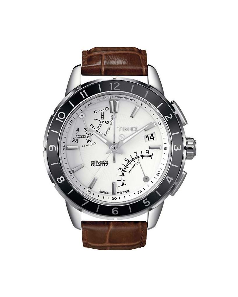 Ρολόι TIMEX Fly Back Chronograph Brown T2N496   προσφορεσ ρολόγια ρολόγια από 100 έως 300ε