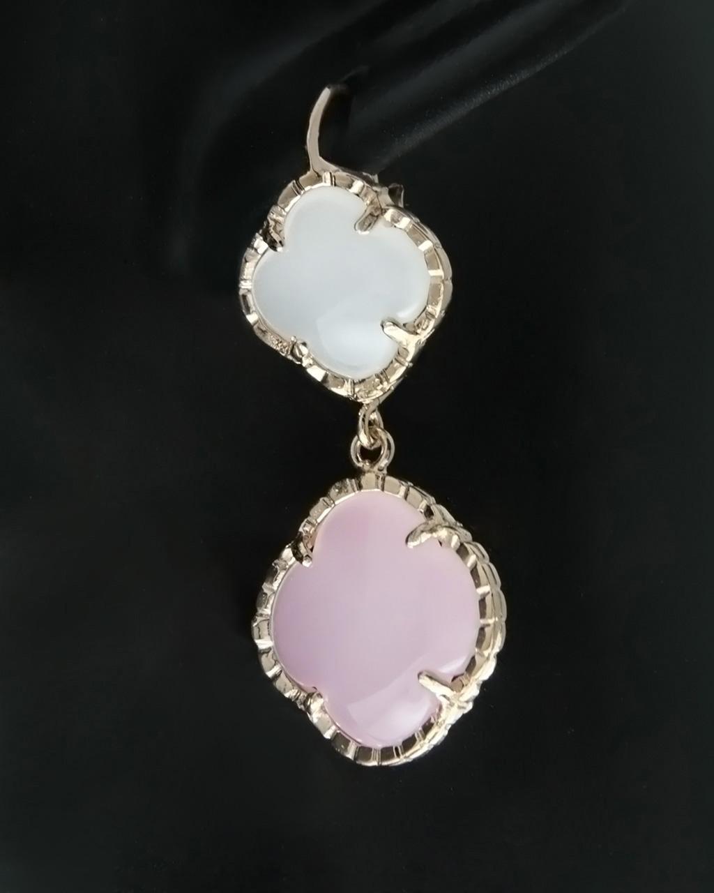 Σκουλαρίκια ασημένια 925 με Ορυκτές πέτρες   γυναικα σκουλαρίκια σκουλαρίκια ημιπολύτιμοι λίθοι