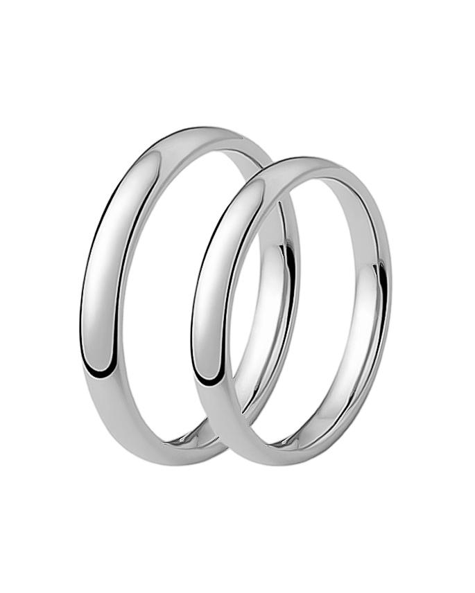 Βέρα γάμου από λευκόχρυσο Κ9 XD66283   γαμοσ βέρες γάμου   αρραβώνα βέρες λευκόχρυσες