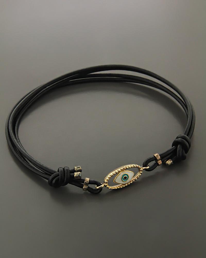 Βραχιόλι μάτι ασημένιο 925 με σμάλτο   γυναικα κοσμήματα με ματάκι