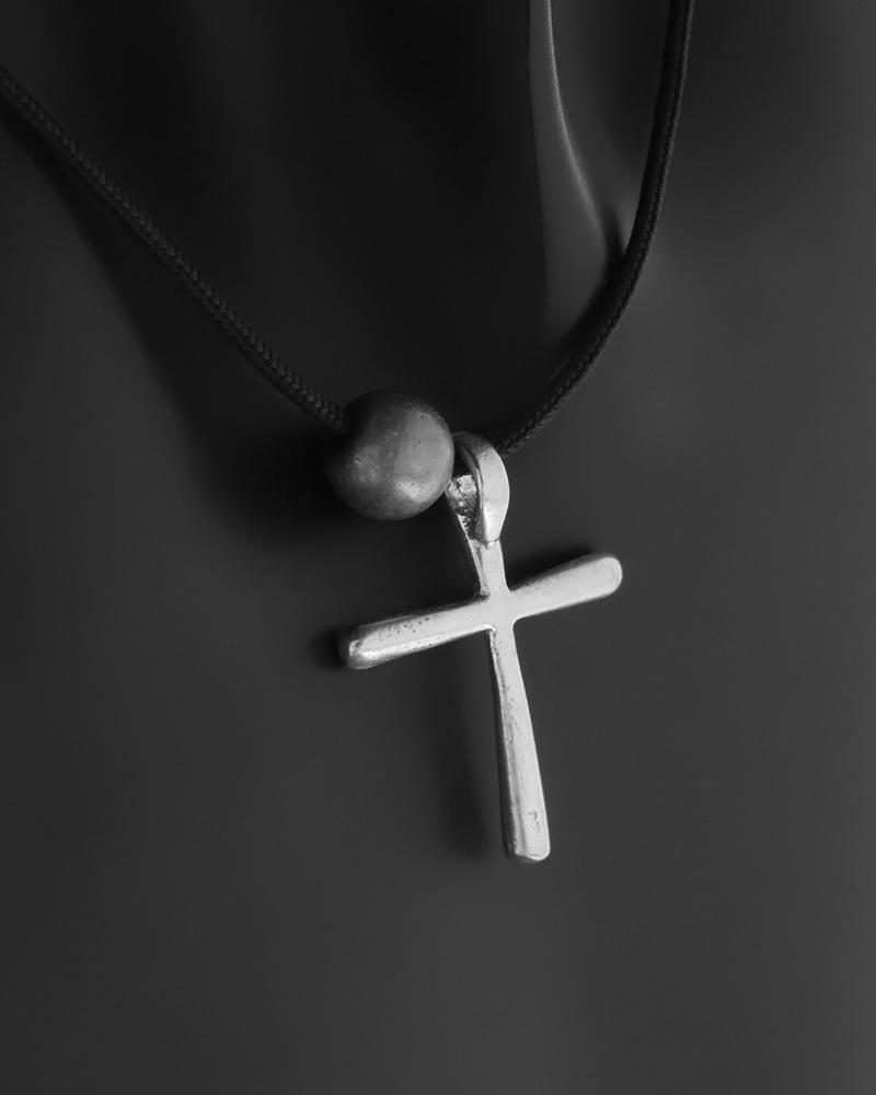 Μοντέρνος λεπτός σταυρός ασημένιος 925   ανδρασ σταυροί ανδρικοί