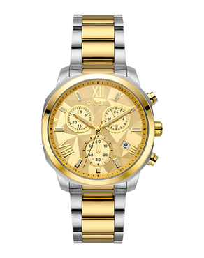Ρολόι BREEZE Tresor Chronograph Two Tone 712011.2