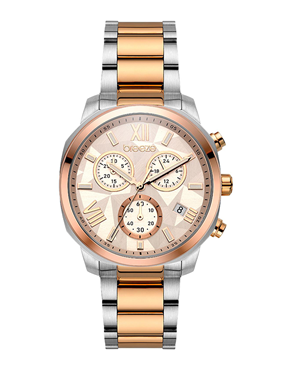 Ρολόι BREEZE Tresor Chronograph Two Tone 712011.7
