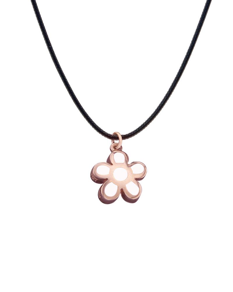 Very Gavello ροζ χρυσό κολιέ Daisy Κ9 VPDA-S-R2   γυναικα κρεμαστά κολιέ κρεμαστά κολιέ ροζ χρυσό