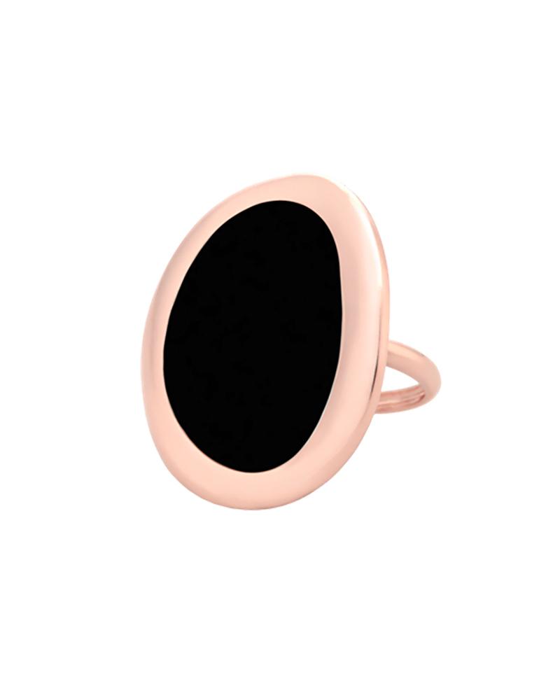 GAVELLO RING VAOP-LX-R1 BLACK   κοσμηματα δαχτυλίδια δαχτυλίδια fashion