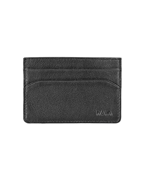 NAVA Leather black credit card & business card holder SM426N
