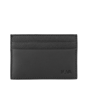 NAVA Credit card holder RFID 4 cc VD426N DURINI  BLACK