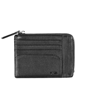 NAVA wallet card holder 6cc Black SM422N