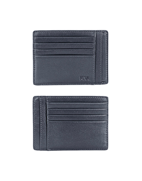 NAVA Credit card holder 8 cc with removable ID envel PL415N