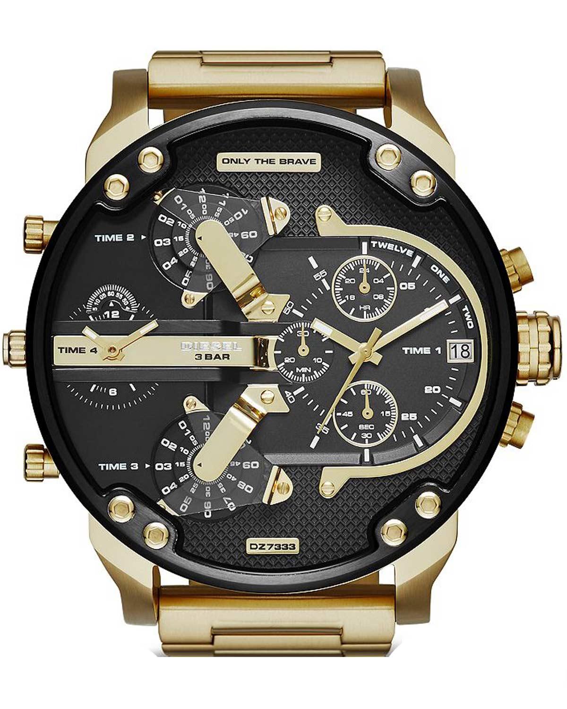 DIESEL Daddies Series Gold Stainless Steel Bracelet DZ7333   νεεσ αφιξεισ ρολόγια