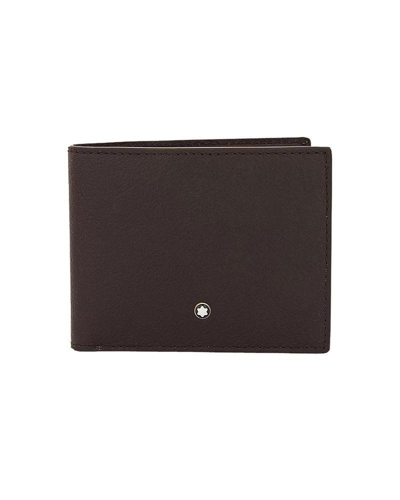 Montblanc Meisterstuck Tuscany Wallet 6cc Brown 111268   δωρα δερμάτινα είδη   αξεσουάρ