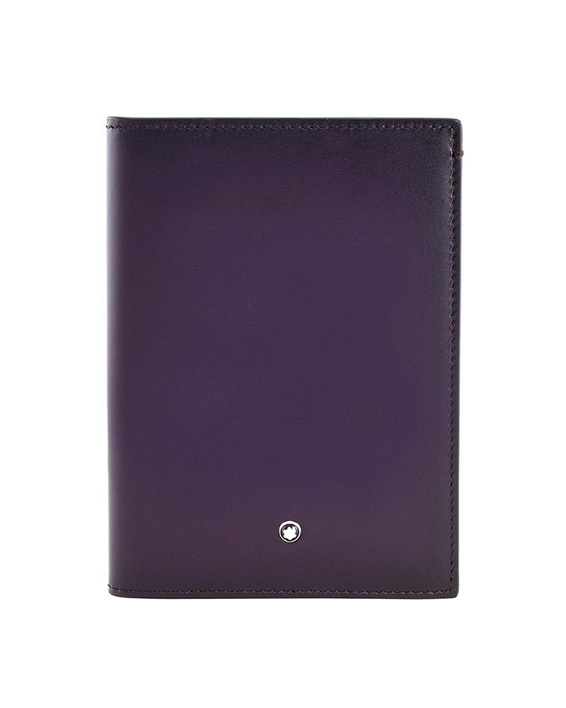 Montblanc Meisterstuck Dark Purple Passport 114512   δωρα είδη ταξιδιού   σακίδια