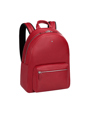 76be4a3ca6 MONTBLANC Sartorial Small Dome Backpack- Red 116753