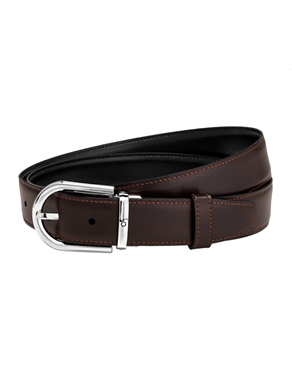 Montblanc 123890 Black/brown reversible cut-to-size business bel