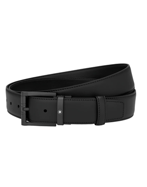 Montblanc 123904 Black cut-to-size casual belt