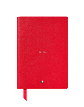 Montblanc18-Month Weekly Diaries 19-20, Red 119529