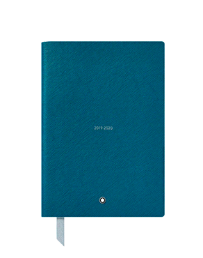 Montblanc 18-Month Weekly Diaries 19-20, Petrol Blue 119528