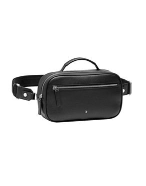 Montblanc Τσάντα Bumbag Meisterstuck Soft Grain Black 116735