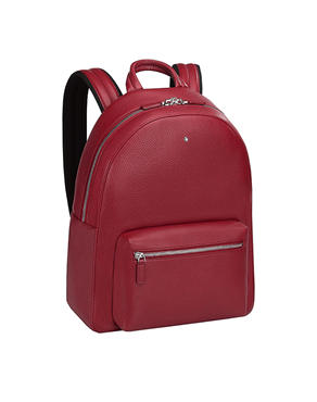Montblanc 116958 Τσάντα Backpack small red soft grain