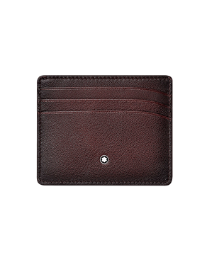 Montblanc 123729 Meisterstuck Burgundy Sfumato Pocket Holder 6cc
