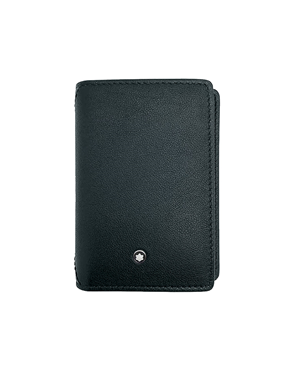 Montblanc 123726 Meisterstuck Sfumato Black Business Card Holder