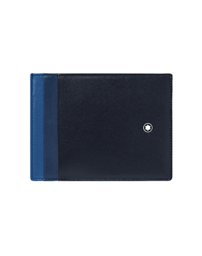 Montblanc Meisterstuck Blue Card Holder 4CC with ID  126215