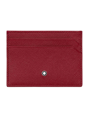 Montblanc Sartorial Red Card Holder 115849