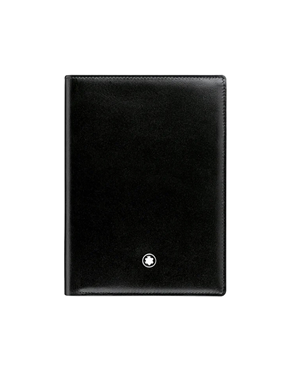 Montblanc μαύρο Πορτοφόλι Meisterstuck Wallet 7cc with ID Card Holder 35798