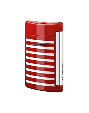 S.T. Dupont MiniJet Navy Red White Stripes 010107