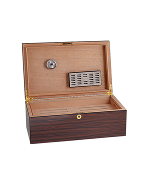 S.T DUPONT Humidor for 100 cigars in Wood & Cedar 001297