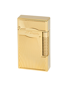 S.T. Dupont 023017  Lighter Le Grand  Dancing Flame -Yellow Gold